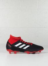 (tg. 44 Eu) adidas Predator 18.3 FG Scarpe da Calcio Uomo Nero (negbás/ftwbla