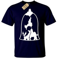 Belle and the Beast Mens T-Shirt S-5XL beauty inspired bell gift present