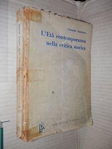 L ETA CONTEMPORANEA NELLA CRITICA STORICA Carmelo Bonanno Liviana 1966 scuola di