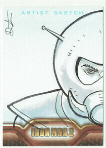 Iron Man 2 Movie Upper Deck 2010 Sketch Card 1/1 Artist Dietrich Smith (c)