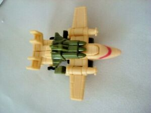 Vintage Transformers Hasbro Takara 1988 Micromasters G1 airplate w props missile