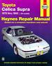 Haynes Workshop Manual Toyota Celica Supra 1979-1992 Service Repair