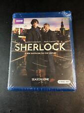 Sherlock: Complete Season 1 (Blu-ray Disc, 2010, 2-Disc Set) New Sealed