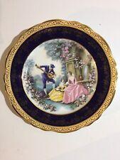 """Imperial Limoges~Collector Plate~10""""~22 kt. Gold~Guilded Porcelain~Vintage"""