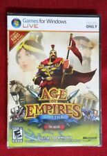 Microsoft Age of Empires Online: The Greeks (PC) - NEW - FREE SHIPPING™