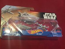 Star Wars Hot Wheels Die-Cast First Order Transporter X-Wing Fighter NEW MIP