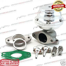 38MM 2 BOLT WASTEGATE SILVER 12PSI TiAL Style F38 Air Cooled 1 Year Warranty