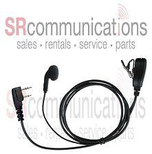 Earbud PTT headset Kenwood TK3160 TK372 TK2160 TK272 TK3170 TK340 TK370 TK2100