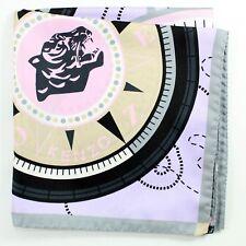100% New - Kenzo Silk Scarf Lilac Logo Print Large Square GENUINE 181190