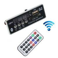 5V/12V Bluetooth MP3 WMA Decoder Board Car Audio Module USB SD FM AUX Radio