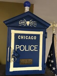 Gamewell Chicago Police Call box -Reproduction?