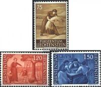 Liechtenstein 395-397 (kompl.Ausg.) postfrisch 1960 Freimarken: Landschaften