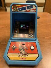 Vintage 1981 Coleco Nintendo Donkey Kong Mini Arcade Table Top Game! Works!