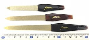 Nail Files Golden High Quality Sapphire ***********UK STOCK************