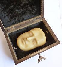 Masque mortuaire en cire de l'Empereur Napoléon 1er réduction 1821 par Arnott