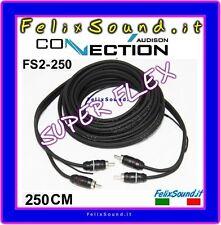 Connection FS2 250 Cavo  Segnale RCA 2,50  MT Super Flex  ( AUDISON )