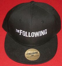 SDCC nycc Comic Con Exclusive Black Hat Cap THE FOLLOWING Kevin Bacon new ds