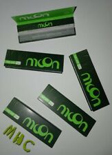 5 Books! MooN Hemp 1.0 Cigarette Rolling Papers! (Mhc)
