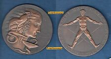 Médaille - Par R.B. Baron Laboratire Mauchant S.P.R.E.T 1918-1968 Dans sa Boite
