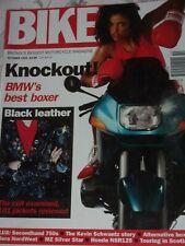 Bike 10/93 Honda NSR125F, BMW R1100RS, Used 750s -Yamaha FZ750, Honda VFR750 etc