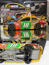 KYLE BUSCH 2013 ATLANTA WIN RACED VERSION M&M'S 1/24 ACTION NASCAR DIECAST