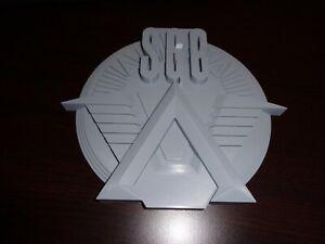 "3d printed SGC logo "" stargate command logo "" paintable model"