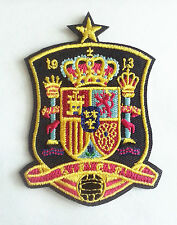 spain national soccer team Embroidered Iron On/Sew On Patch