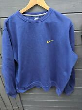 Vtg Nike sweatshirt SIZE XL blue