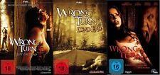 WRONG TURN 1 2 3  Dead End /  Left For Dead  3 DVD Complete Collection NEU