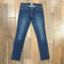 LEVIS Demi Curve Straight Leg Stretch Blue Jeans W29 x L31 Womens Size 2/26