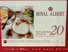 New Royal Albert OLD COUNTRY ROSES 20-PIECE DINNERWARE SET
