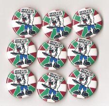 1x Official Hooligan Button Euskal Hooligan Oi Skin Ultra Ultras Hool ACAB Punk