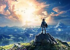 Poster A3 The Legend Of Zelda Breath Of The Wild 13