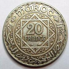 MAROC - 20 Francs - 1347/1928 -