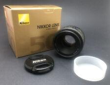 Nikon AF NIKKOR 50mm 1:1.8D Prime Camera Lens Pre-Owned
