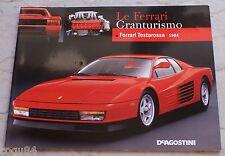 Le Ferrari Granturismo - Numero 42 - Ferrari Testarossa  1984 - De Agostini