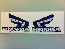 Honda Custom Blue ATC Wings Decals Stickers ATC350X 200X 250R ATC250R ATC200X 70