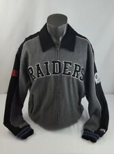 Men's Oakland Raiders Authentic NFL  Size XL Wool Zip Up Jacket