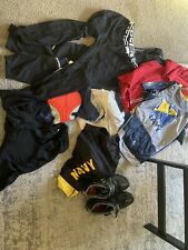 L/Xl cycling shorts and bib and jerseys And Shoes