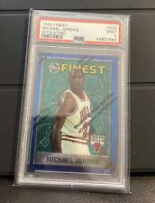 1995 Michael Jordan Topps Finest Psa 9 With Coating #229