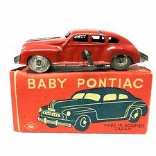 Vintage TM Toys Baby Pontiac Wind-Up Car, Vintage,  with Box, Occupied Japan
