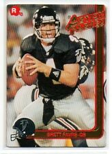 1991 Action Packed Rookie Update #21 Brett Favre Rookie Card Green Bay Packers