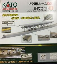 New Kato Platform DX Set N Scale Suburban Island 23-160
