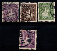 Denmark 1924 Used 80% King, 300 years of Danish, Christian X