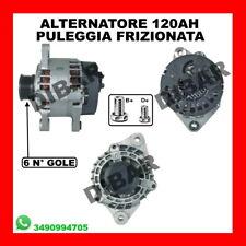ALTERNATORE FIAT STILO 120AH 1.9 JTD KW85 CV115 DAL 2003 CODICE 63321501