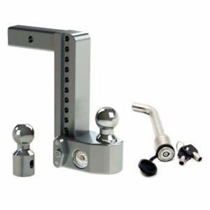 "Weigh Safe WS10-2 Adjustable Hitch Mount w/ KEYED-ALIKE 3-1/2"" x 5/8"" Lock"