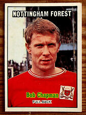 A&BC FOOTBALLERS ORANGE BACK 3RD SERIES NO 208 BOB CHAPMAN NOTTINGHAM FOREST