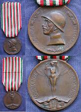 MEDAGLIA CONIATA BRONZO NEMICO CAMPAGNA ITALO AUSTRIACA 1915/18 - C.F.M.L. #3