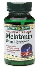 Nature's Bounty Melatonin 10mg Capsules. 60 Tablets