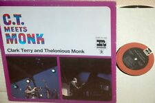 CLARK TERRY & TH.MONK :C.T meets MONK *RIVERSIDE USA  RE 1968*SUPERB